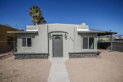 Pima County Single Family Home Active Contingent: 217 E 32nd Street