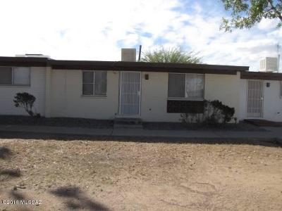 Pima County, Pinal County Townhouse Active Contingent: 7353 E Desert Spring Drive