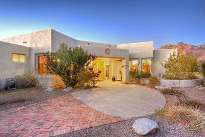 Pima County, Pinal County Single Family Home For Sale: 7040 N Camino Sin Vacas