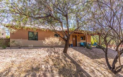 Tucson Single Family Home Active Contingent: 10577 E John McNair Place