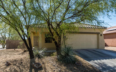 Tucson Single Family Home Active Contingent: 10394 E Valley Quail Drive