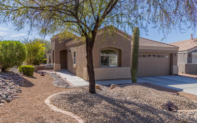 Pima County Single Family Home Active Contingent: 5363 W Senita Cactus Court