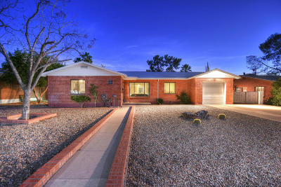 Tucson Single Family Home Active Contingent: 3456 E Edgemont Street