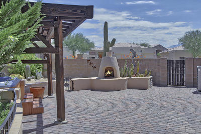 Pima County Single Family Home For Sale: 4851 W Saguaro Point Place