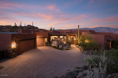 Oro Valley Single Family Home For Sale: 1361 W Tortolita Mountain Circle