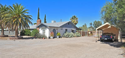 Pima County Single Family Home For Sale: 2225 E Fort Lowell Road