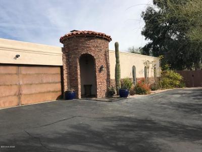 Tucson Single Family Home For Sale: 6430 N Camino Arturo