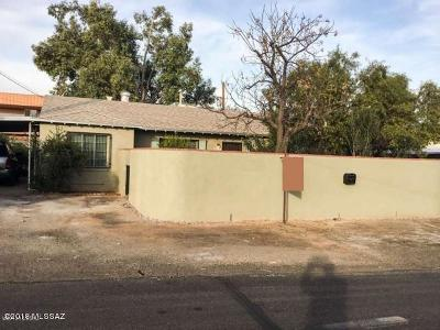 Pima County Single Family Home For Sale: 3219 N Tucson Boulevard