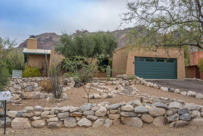 Tucson Single Family Home For Sale: 3827 E Marble Peak Place