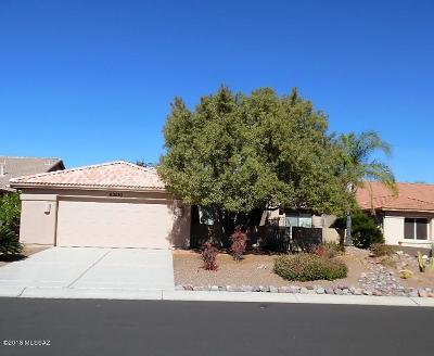 Tucson Single Family Home Active Contingent: 63530 E Desert Peak Drive