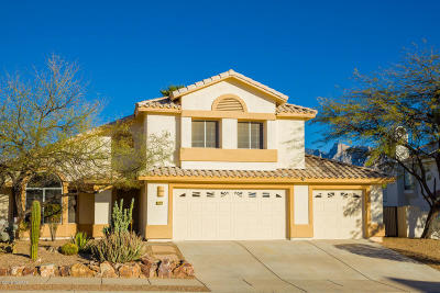 Pima County Single Family Home For Sale: 12470 N Granville Canyon Way