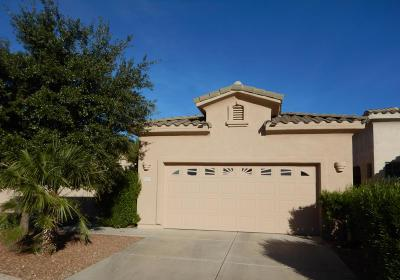 Pima County Single Family Home Active Contingent: 5120 N Pinnacle Point Drive