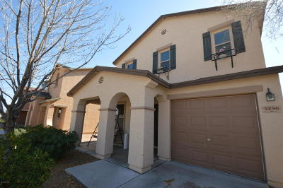 Pima County, Pinal County Single Family Home Active Contingent: 5296 E Desert Straw Lane