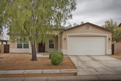 Tucson Single Family Home Active Contingent: 3622 S Western Way