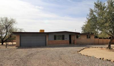 Pima County Single Family Home Active Contingent: 1321 W Newton Drive