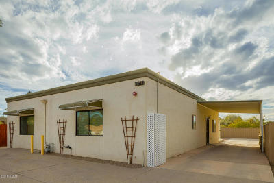 Pima County Single Family Home For Sale: 3611 N Cactus Boulevard