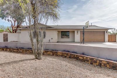 Pima County Single Family Home For Sale: 3806 W Orangewood Drive