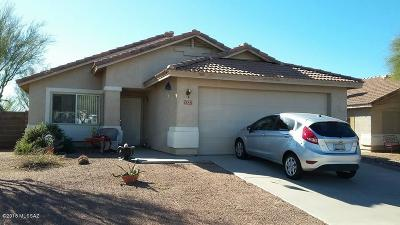 Marana Single Family Home Active Contingent: 5527 W Panther Butte Street