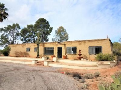 Tucson Single Family Home For Sale: 11430 E Old Spanish Trail