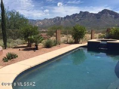 Oro Valley Single Family Home For Sale: 10772 N Chapin