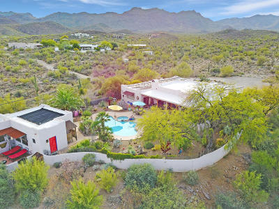 Tucson Single Family Home Active Contingent: 5264 W Sweetwater Drive