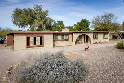 Pima County Single Family Home For Sale: 7781 N Paseo Monserrat