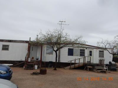 Pima County, Pinal County Manufactured Home For Sale: 12545 N Single Six Road