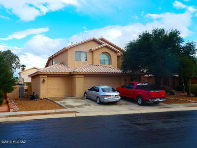Tucson Single Family Home For Sale: 8380 N Poudre Drive