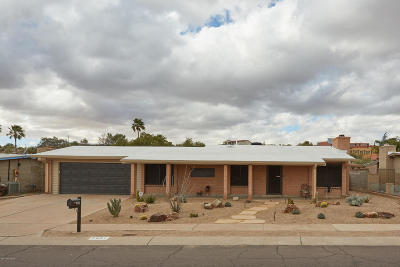 Tucson Single Family Home Active Contingent: 7951 N Jensen