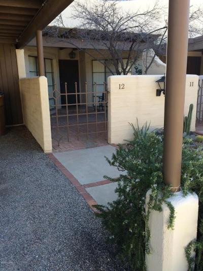 Tucson Condo For Sale: 2600 E Skyline Drive #12