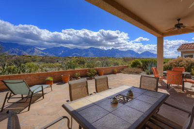 Oro Valley Single Family Home Active Contingent: 13838 N Lobelia Way