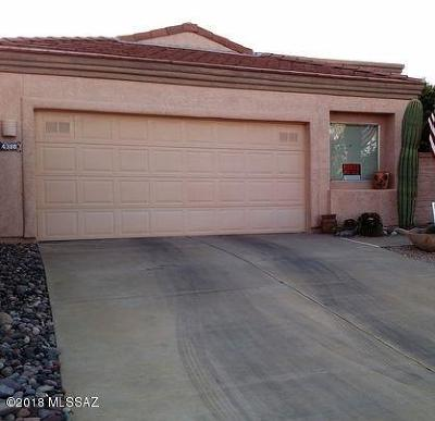 Pima County Single Family Home For Sale: 4380 S Golf Estates Drive