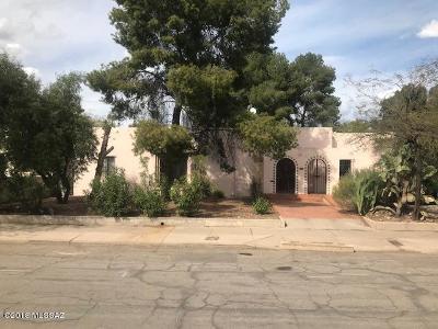 Tucson Single Family Home For Sale: 2249 E Drachman Street