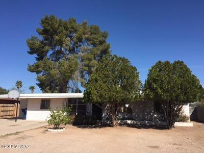 Tucson Single Family Home For Sale: 5819 E 32nd Street
