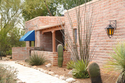 Tucson Single Family Home For Sale: 1021 E Via Soledad