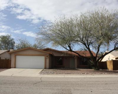Tucson Single Family Home For Sale: 1530 W Highsmith Drive