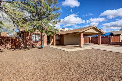 Tucson Single Family Home For Sale: 1772 W Newhall Drive