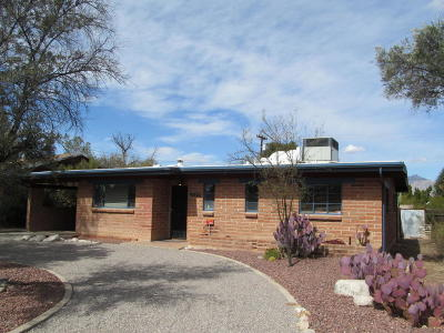 Tucson Single Family Home Active Contingent: 5535 E Rosewood Street