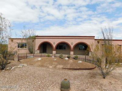 Tucson Single Family Home For Sale: 5305 N Estelle Drive