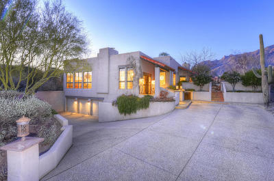 Tucson Single Family Home For Sale: 4061 Cam Montecillo