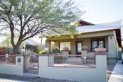 Tucson Single Family Home For Sale: 738 E Mabel Street
