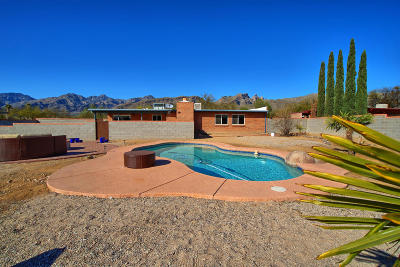 Tucson Single Family Home For Sale: 9340 E Walnut Tree Circle