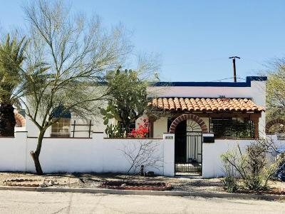 Tucson Single Family Home For Sale: 933 N Alder