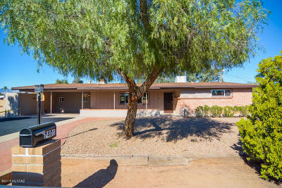 Tucson Single Family Home For Sale: 7401 E Calle Sinaloa