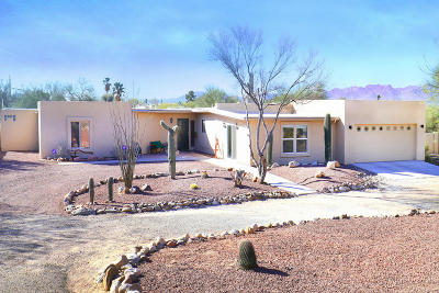 Tucson Single Family Home For Sale: 2681 W Medici Drive