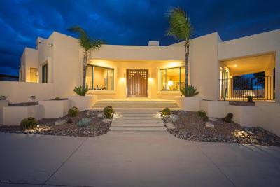 Tucson Single Family Home Active Contingent: 5580 E Paseo Cimarron