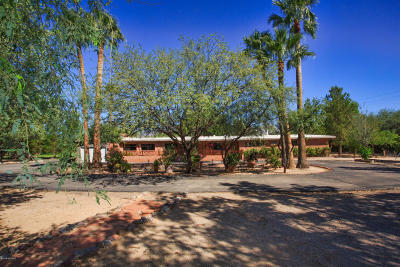Tucson Single Family Home Active Contingent: 8721 E Woodland Road