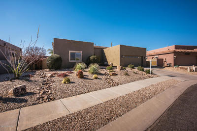 Oro Valley Single Family Home Active Contingent: 13311 N Regulation Drive