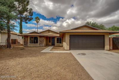 Tucson Single Family Home For Sale: 7380 S Via Hermosa