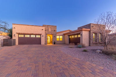 Tucson Single Family Home Active Contingent: 3938 N Foothills Club Loop